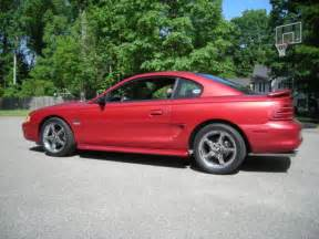 94 Mustang GT Red, Street / Strip Drag car, Nitrous, 2 sets of wheels and tires. for sale ...