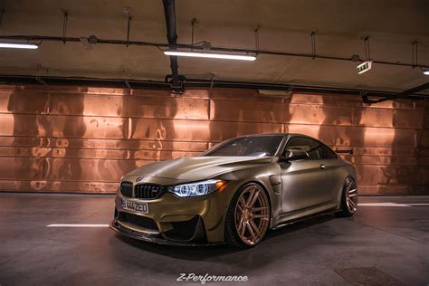 zpforged  super deep concave rose gold
