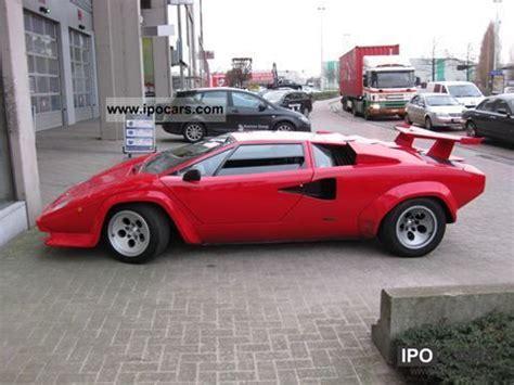1989 Lamborghini Countach Quattrovalvole  Car Photo and Specs