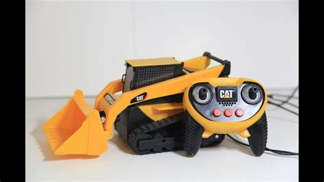 Cat Caterpillar Remote Control Skid Steer Construction Toy