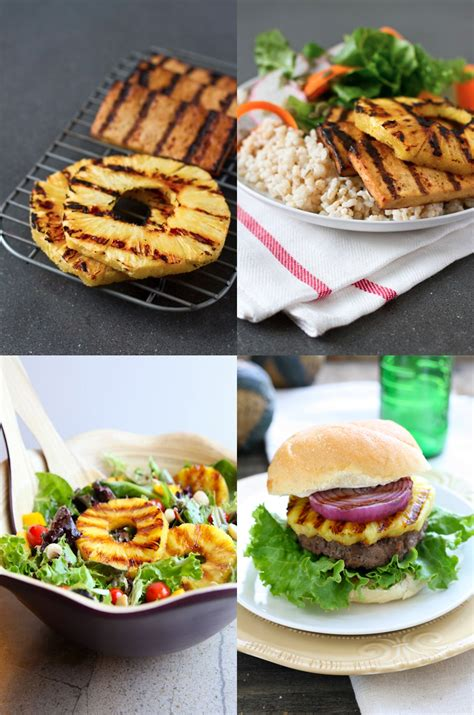 bbq recipe ideas try this at your next bbq sweet grilled pineapple better housekeeper