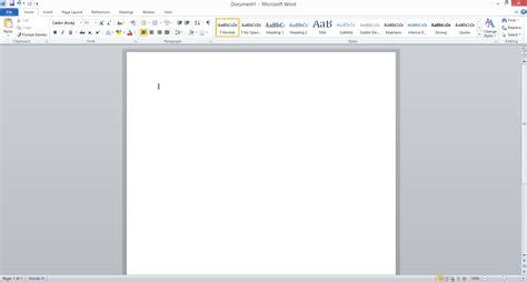 Windows Microsoft Word by Word 2010 Appearance In Windows 8 User