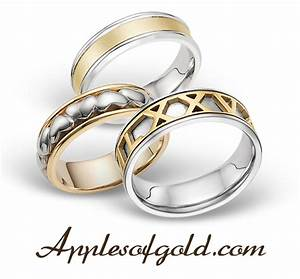 two tone wedding bands complementary contrast With wedding rings two tone