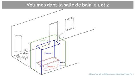 installation electrique salle de bain les nouveaux volumes dans la salle de bain a5 nf c 15 100