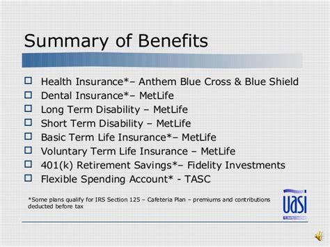 uasi orientation benefits