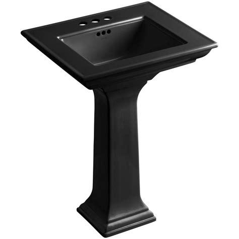 kohler memoirs stately ceramic pedestal bathroom sink