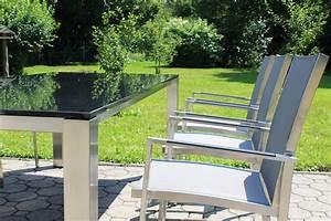 Gartenmöbel Edelstahl Reduziert : edelstahl gartenstuhl nizza sitzen in perfektion ~ Watch28wear.com Haus und Dekorationen