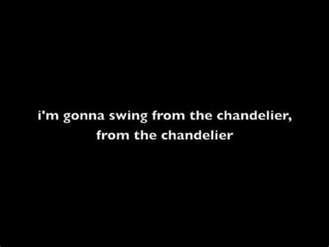 chandelier sia furler lyrics