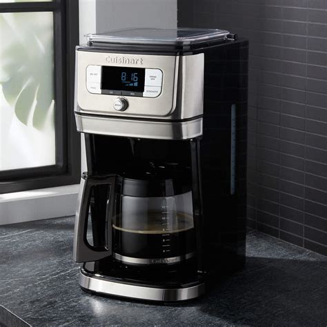 Why people love the brand. Cuisinart Automatic Grind And Brew Coffee Maker How To Use - Image of Coffee and Tea