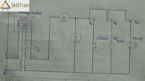 basic electrical wiring diagram for house basic household basic wiring system for home wiring diagram with description