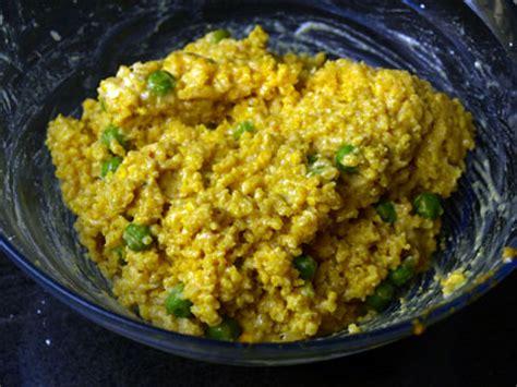 cuisiner millet croquettes de millet à l indienne cookismo recettes