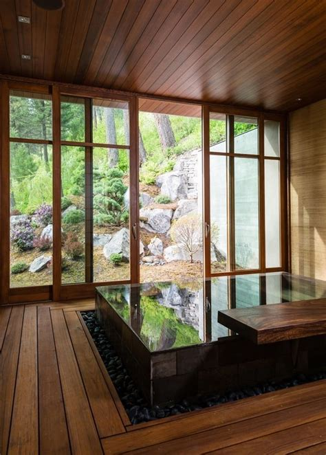 Zen And The Art Of Bathing 12 Serene Soaking Tubs Interior Design Inspirations