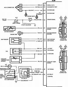 1986 Chevy S10  The Wiring Harness Diagram  Engine