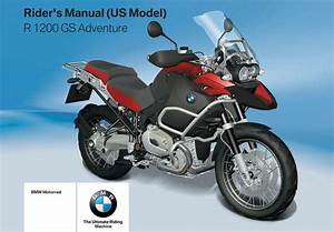 Bmw R 1200 Gs Adventure  Us  2007 Owner U2019s Manual