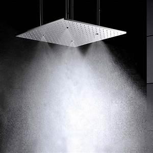 Douche Encastrable Plafond : douche plafond simplement simple pommeau de douche ~ Premium-room.com Idées de Décoration
