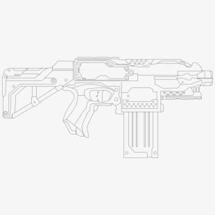 nerf guns  printable coloring pages transparent