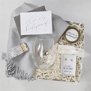 custom bridesmaid gift boxes foxblossom co With wedding bridesmaid gift ideas