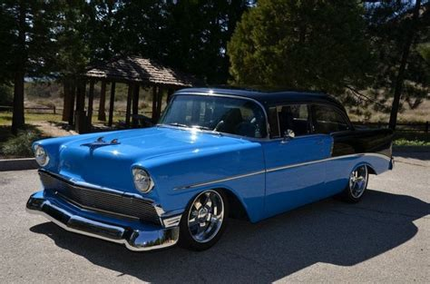 56 Chevy| Identical Except Rims & Black Top; Mine Was