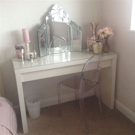 ghost chair for vanity 25 best ideas about ikea dressing table on