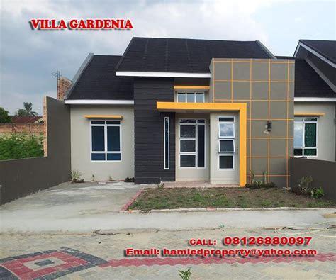rumah minimalis pekanbaru villa gardenia  gambar