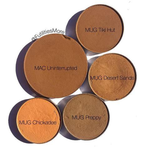 Tiki Hut Eyeshadow by Mac Uninterrupted Dupes Makeup Eyeshadows