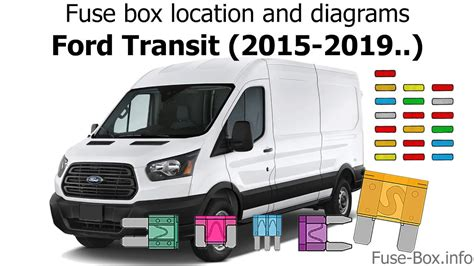 fuse box location and diagrams ford transit 2015 2019 youtube