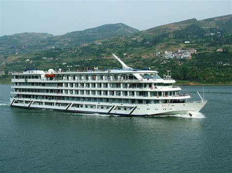 President No.1 Cruise Ship Yangtze River Cruises Three Gorges Yangtze River Cruise Ships ...