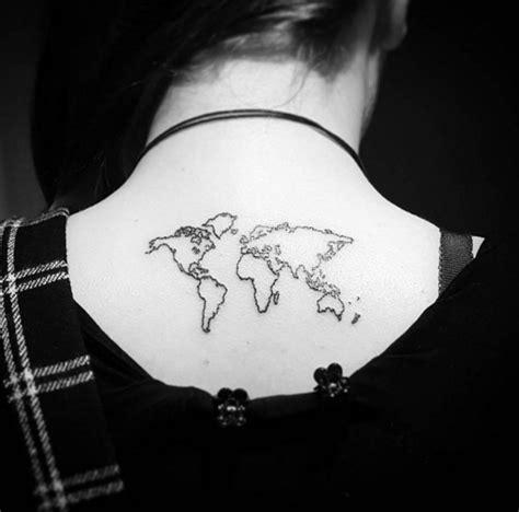 """Le Top Des Tatouages """"carte Du Monde"""""""