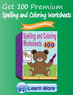 kindergarten coloring worksheets learning