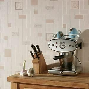 Papier Peint Cuisine Moderne : papier peint tendance 50 id es pour une maison moderne ~ Dailycaller-alerts.com Idées de Décoration