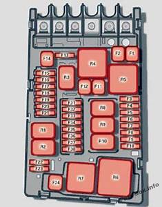 Audi A3    S3  8v  2013  2015  2016  Fuse Box Diagram  With