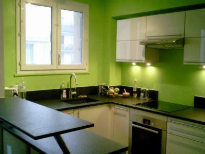 mode cuisine décoration cuisine vert anis à la mode