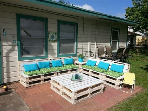 diy outdoor furniture made from pallets pallet patio furniture ideas pallet wood projects 45691