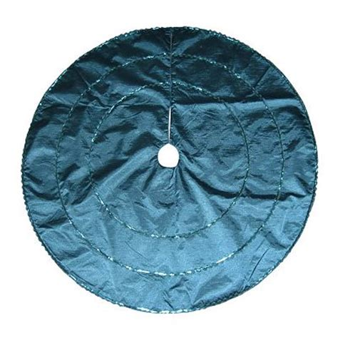 48 in teal sequin tree skirt everything turquoise