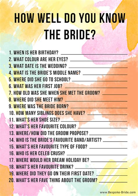10 Bachelorette Party and Bridal Shower Games & Free ...