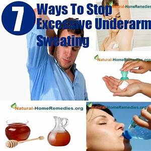 Stop Excessive Underarm Sweating Diy Home Things