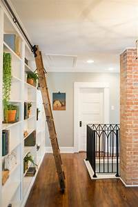 adding a sliding ladder to a bookcase fixer