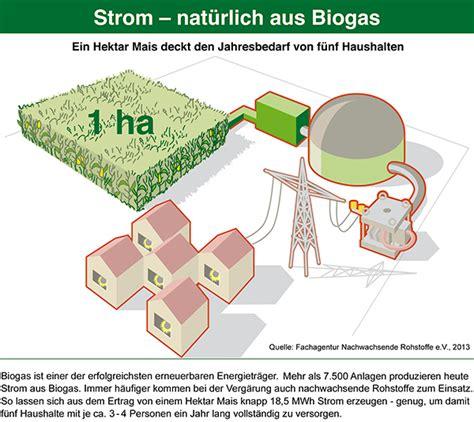 wie wird strom erzeugt fnr biogas pressegrafiken