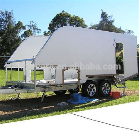 light weight cargo trailer body interior exterior wall panels holypan cing trailer cargo