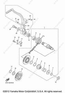 Yamaha Motorcycle 2003 Oem Parts Diagram For Starter
