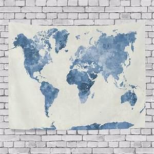 Tapisserie Carte Du Monde : transport monde promotion achetez des transport monde promotionnels sur alibaba ~ Teatrodelosmanantiales.com Idées de Décoration