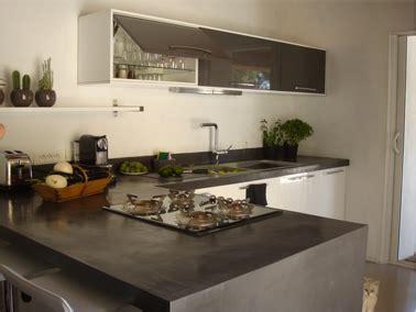 cuisine b on cir beton cire plan de travail cuisine maison design bahbe com