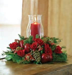 christmas candle centerpiece in baton rouge la biilly heroman s