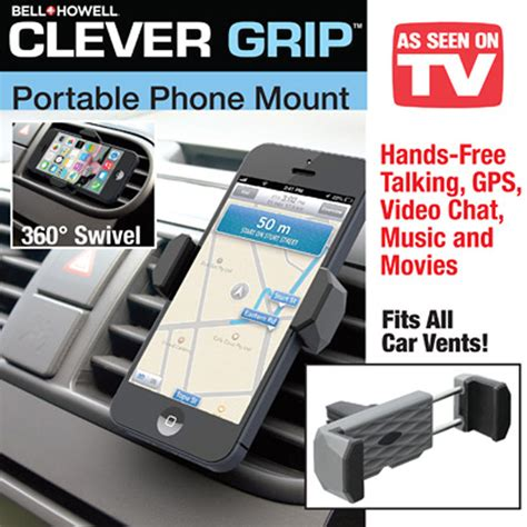 how to on tv from phone bell howell clever grip air vent universal cell phone