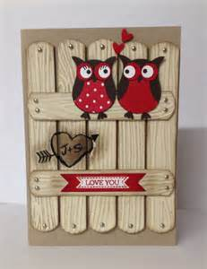Stampin Up Owl Punch Valentine Card Ideas