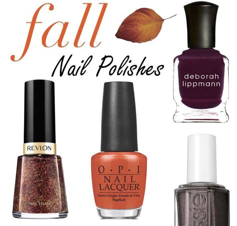 hot nail polish colors    fall