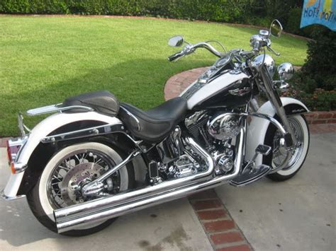 Custom Softail Deluxe For Sale In Long Beach, Ca