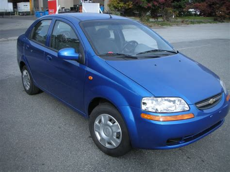 2004 Chevrolet Aveo Sedan Pictures Information And