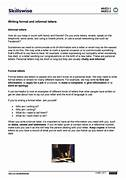 Writing Formal And Informal Letters Formal Business Letter Format On Pinterest Format Of Informal Letter How To Write A Letter Formal Informal Letter Writing Format Tips Download Your Free Website Funnel W Setup Videos