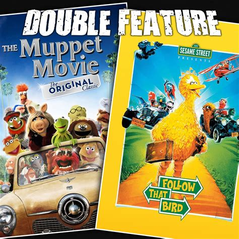 The Muppet Movie + Follow That Bird   Double Feature